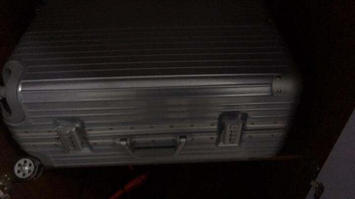 爱路思AIRCROSS 22英寸 铝框拉杆箱万向轮行李箱女旅行箱男登机箱81LKXZ黑色 晒单图