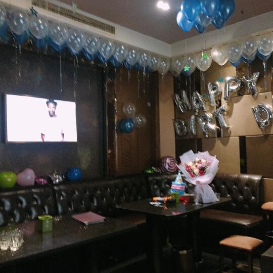 青苇生日派对套装 生日帽8顶 铝箔气球套装 12寸加厚心形气球20个送气筒1个托杆20个丝带1盘 晒单图