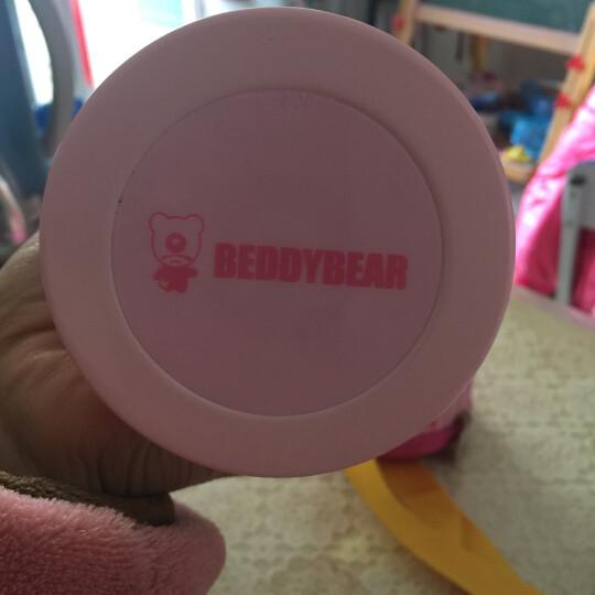 杯具熊(beddybear) 儿童保温杯带吸管儿童水壶男女316不锈钢水杯子 三盖礼盒版-316棒棒熊 630ml 晒单图