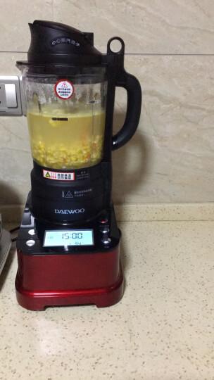 【夏日狂欢】韩国IH加热智能破壁机家用 辅食机 料理机 榨汁机 豆浆机 Q81 中国红 晒单图