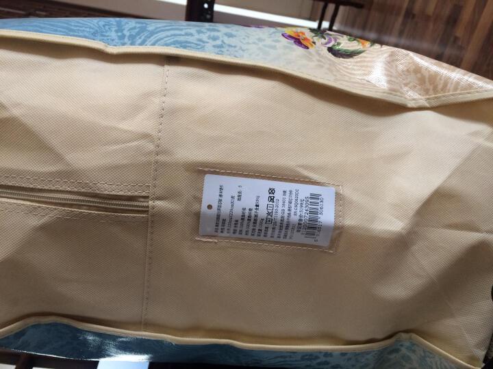 富安娜家纺 羽绒被芯95%白鹅绒被子加厚双人冬被 白色 1.8m(230*229cm)(1300g填充) 晒单图