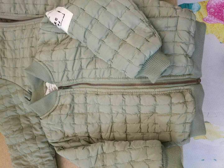 童装男童外套儿童夹克春秋冬装2018新品男孩小童上衣 绿色 110码 晒单图