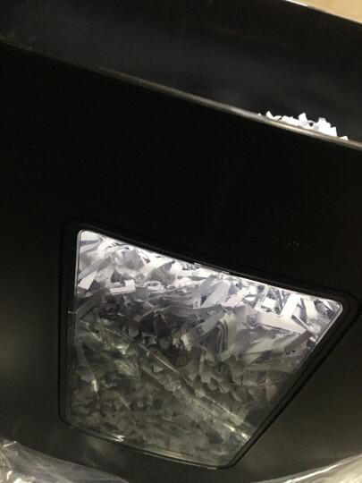得力(deli)德国5级高保密碎纸机碎卡机 多功能办公商用碎纸机文件颗粒粉碎机33040 晒单图