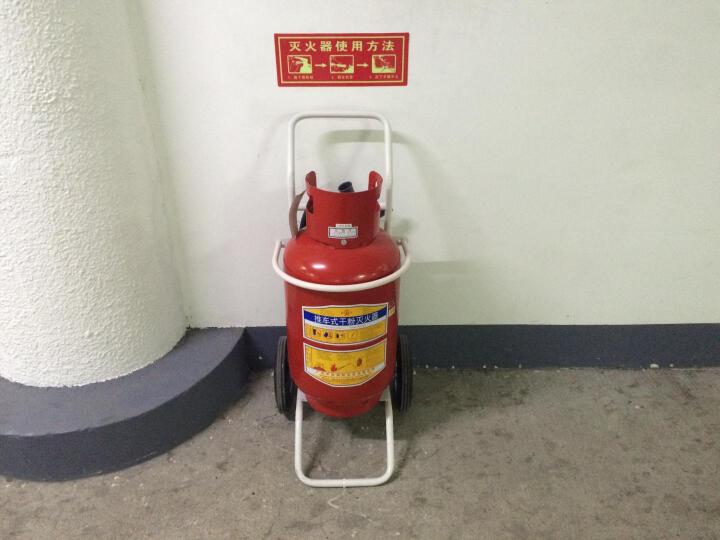 桂安 推车式干粉灭火器 35公斤推车式 工厂办公室灭火器 35KG 晒单图