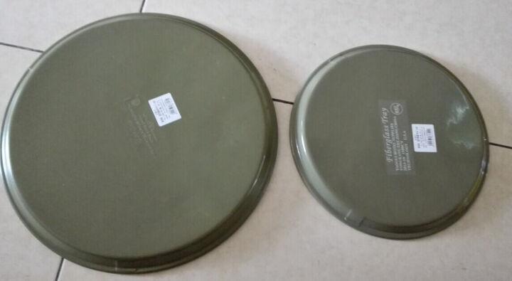 防滑托盘杯子托盘酒店饭店酒吧塑料传菜长方形托盘茶水盘 40.5*55.5方形 晒单图