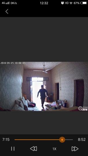 中兴 小兴看看Memo1080P高清家用监控摄像头 360°云台红外夜监控器 手机wifi远程 网络无线家庭监控摄像头 晒单图