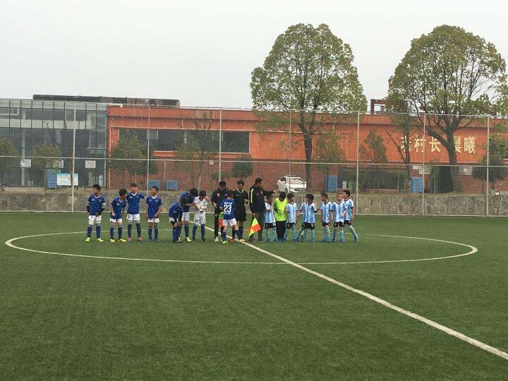 /成人足球守门员手套 童装门将手套/小学生龙门手套 加厚、防滑、耐磨 蓝色 8号 晒单图