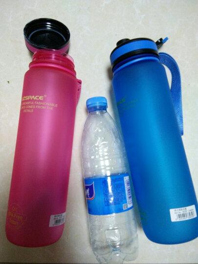 UZSPACE 优之水杯  大容量 情侣 学生 男女户外运动水壶 进口材料 安全环保 杯子 3032按盖蓝色1L 晒单图