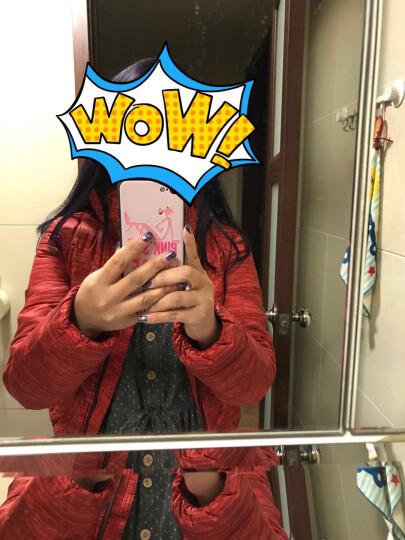 MJ NIKE耐克女装 冬季鹅绒保暖夹克外套运动连帽羽绒服615184 DF 615184-660 XS 晒单图