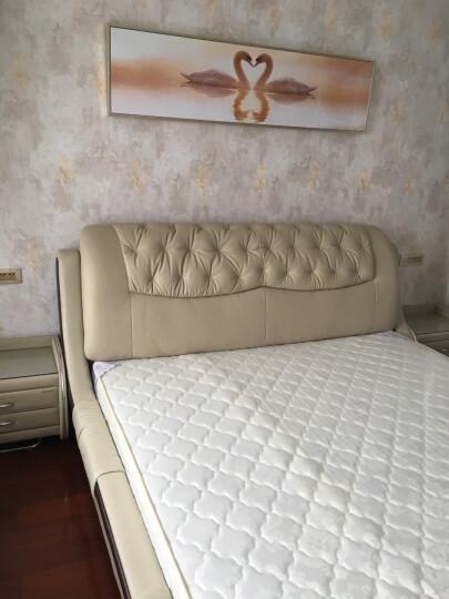 全友(QUANU)时尚卧室床垫弹簧垫软硬席梦思床垫1.8米105006 床垫 厚度:210mm 1800*2000 晒单图