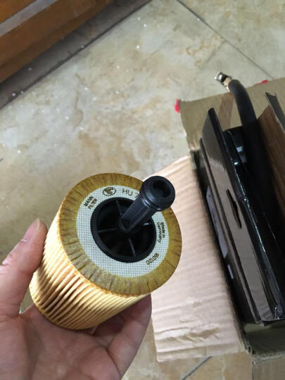 曼牌(MANN)机油格/机油滤清器 滤芯 HU719/7X 大众CC 3.6FSI(09款) 晒单图