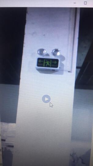 消防应急灯多功能LED安全出口双头指示应急标志灯安全出口指示灯牌疏散层道通道标志led灯 右向出口两用灯具 晒单图