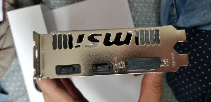 微星(MSI)GeForce GTX 1060 飙风 3G 1759-1544MHz GDDR5 192BIT PCI-E 3.0 吃鸡显卡 晒单图