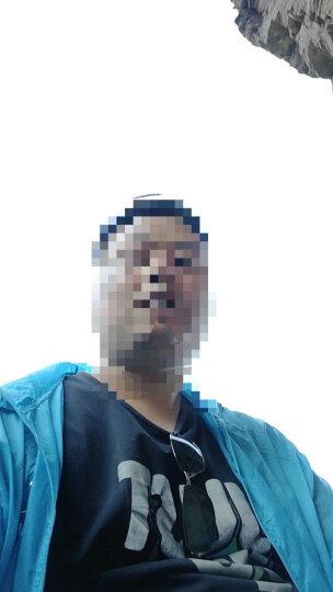 PMMP夏季防晒衣加肥加大码防晒服男士轻薄户外皮肤衣外套胖子风衣 浅蓝FS01 6XL 晒单图