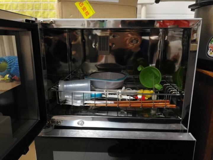 志高(CHIGO)消毒柜家用立式台式小型50升商用消毒碗柜 ZTPK 380K(双门三按键) 晒单图