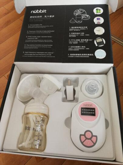 努彼兔(NUBBIT) 电动吸奶器自动集奶器孕妇挤奶器可充电PPSU奶瓶 晒单图