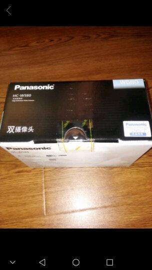 赠原电】 Panasonic松下 HC-W585GK 高清数码摄像机 无线多摄像头 黑色(套餐五) 晒单图