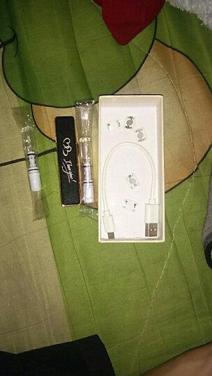 焦点 USB充电打火机防风 电子点烟器 礼品定制免费刻字 123磨砂黑我爱你+4个电热丝 晒单图