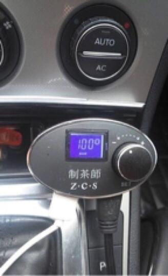 车载加热水杯货车变频智能恒温电热水杯小汽车用热水器烧水壶304不锈钢保温杯通用12V24V100度 豪华版稳重灰-车用 晒单图