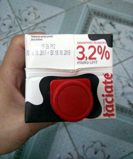 波兰进口 兰雀(Laciate)高温灭菌全脂牛奶 0.5L*8盒 晒单图