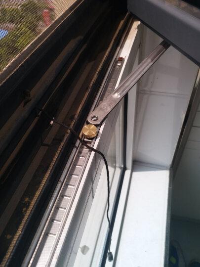 春塑铝合金门窗风撑断桥铝内开内倒窗户防风限位器加厚304不锈钢挡风撑杆支架 晒单图