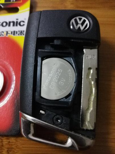 松下(Panasonic)CR2025进口纽扣电池电子3V适用奔驰尼桑汽车钥匙遥控器电子秤CR2025 一粒 晒单图