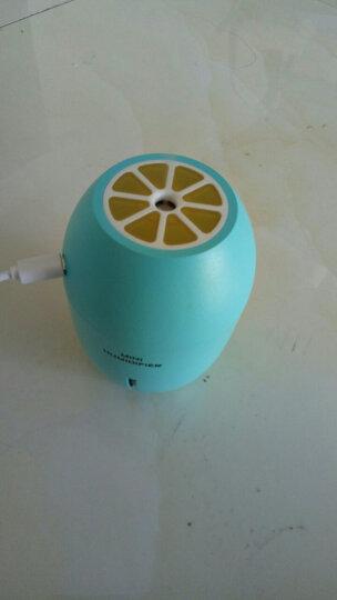 乾越(qianyue)柠檬迷你usb空气加湿器创意宿舍办公室卧室家用静音桌面礼物礼品 蓝色 晒单图