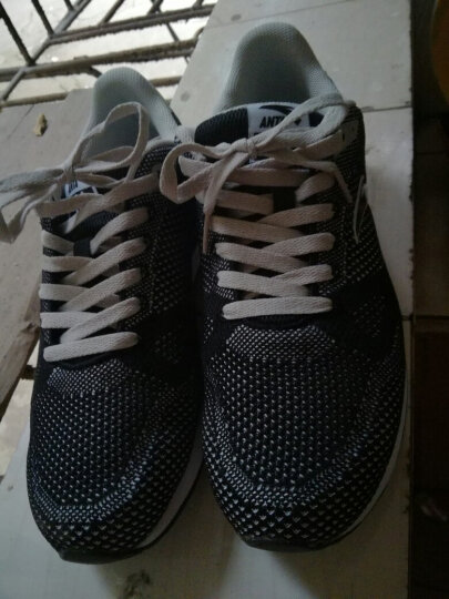 安踏ANTA男鞋 休闲鞋新品高弹大底呼吸网复古帮面11648822 -4深蓝/正蓝/安踏白 44.5(275) 晒单图