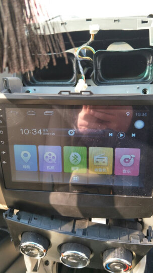馨越现代ix35科鲁兹比亚迪f3哈弗h6瑞虎3众泰宝骏730五菱宏光传祺倒车影像导航一体机 比亚迪F3/L3/S6 标配+高清后视+包安装 晒单图