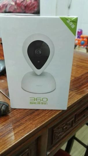 360 智能摄像机 悬浮版 网络wifi家用监控摄像头 高清夜视 双向通话 母婴监控 人脸识别  语音交互 白色 晒单图