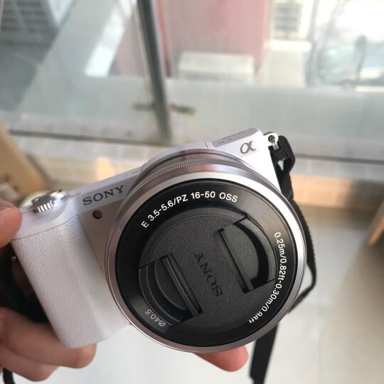 索尼(SONY)ILCE-5100L APS-C单镜头微单相机/照相机 白色(约2430万有效像素a5100L/α5100L) 晒单图