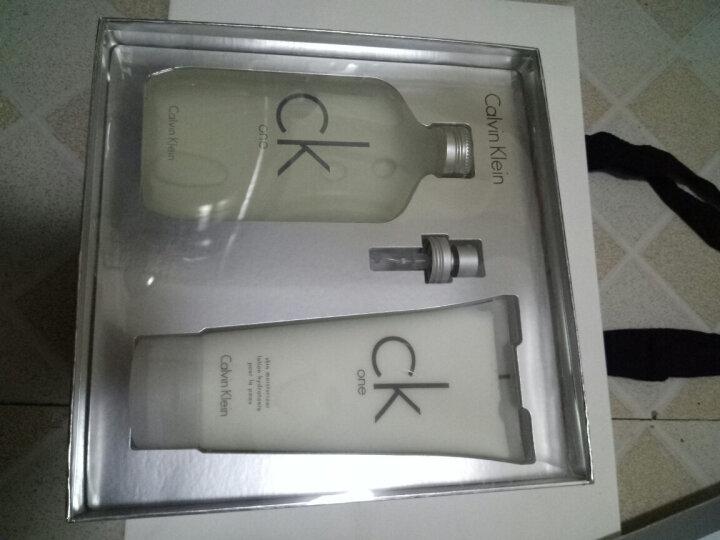 卡尔文克雷恩(Calvin Klein)卡雷优香水节日礼盒I 17(香水+润肤乳)200ml*2 晒单图