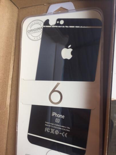 品陌 苹果iPhone8plus 情侣手机壳保护套时尚玻璃壳 5.5英寸 深邃蓝前膜+背膜4.7英寸 晒单图