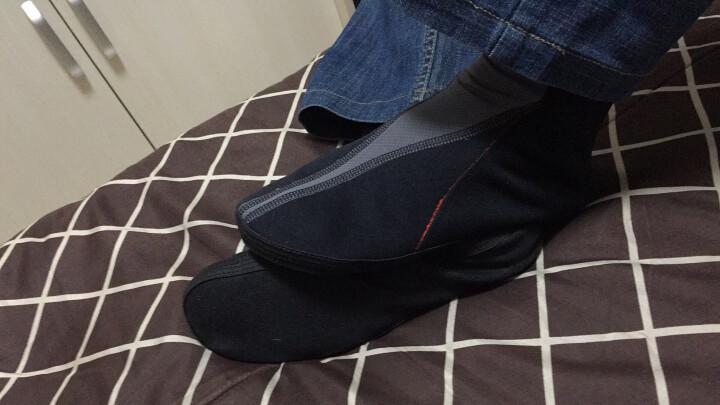 澳大利亚进口速慕袜鞋糖尿病静脉曲张足底筋膜运动户外地板鞋家居防滑保暖透气排湿(THERMOSKIN) 黑色 M 晒单图