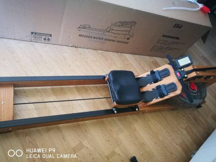 哇咖(Wakagym) 划船机室内划船器家用商用水阻纸牌屋划桨训练健身器材实木双轨顺丰包邮 升级豪华款实木水阻可调节预售定金 晒单图