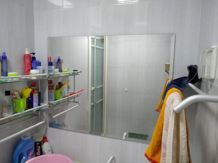 浴室镜简约卫生间洗手间镜子无框卫浴镜z6001高清精磨边化妆镜 磨斜边 70*90cm 晒单图