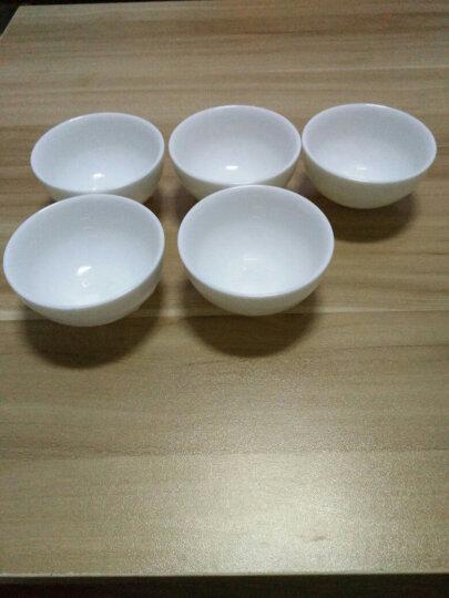 德化白瓷茶杯 陶瓷功夫茶具单杯 品茗杯子 圆杯 晒单图