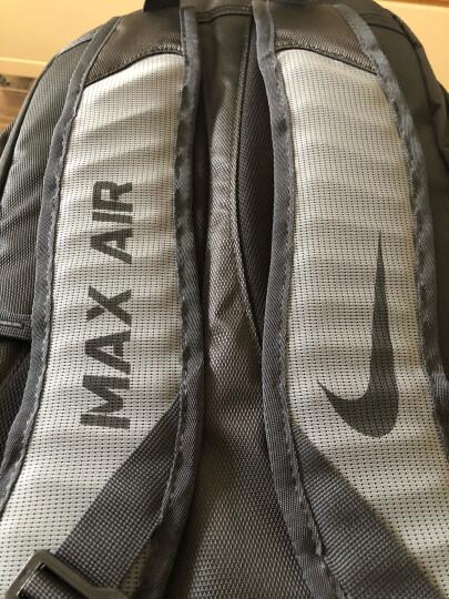 耐克 NIKE 双肩包 电脑包背包训练包旅行包学生书包 BA5479-060 黑/灰 晒单图