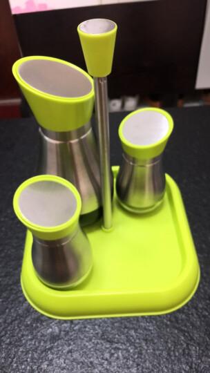 悠佳 304不锈钢玻璃调味瓶油壶酱油醋瓶 厨房胡椒盐调料瓶大容量 U-1330 晒单图