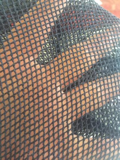 网连裤袜成人女款 彩色网眼春夏季性感防勾丝镂空显瘦渔网袜连裤袜大中小女网裤网格透肉丝袜 黑色 小网连裤袜 晒单图