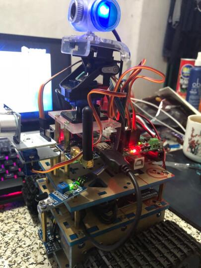 机器人套件 arduino履带小车底盘 循迹 避障遥控WIIF智能小车 C套餐蓝牙+wifi 国产UNO 晒单图