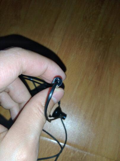 小米(MI)小米双单元半入耳式耳机 黑色 动圈+陶瓷喇叭双单元声学架构 高韧性线材+微机电麦克风线控 晒单图