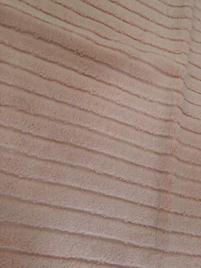 三利 纯棉加厚毛圈吸水地巾 浴室防滑脚垫 50×72cm 深棕 晒单图