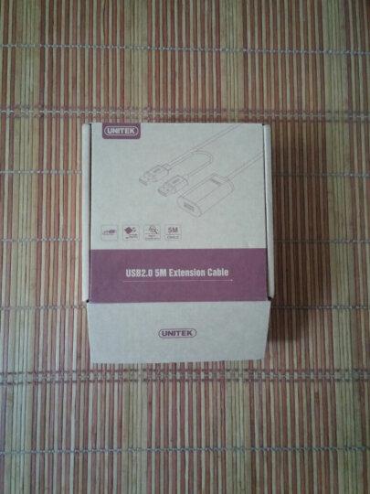 优越者(UNITEK)usb2.0信号放大延长线5米 usb数据线公对母 台式机笔记本电脑边接鼠标无线网卡加长线 Y-277 晒单图