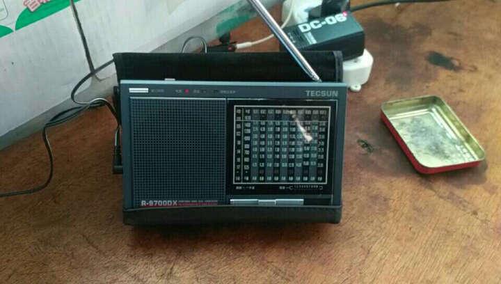 德生(Tecsun)R9700DX 收音机 全波段 老年人半导体 高考考试英语听力四六级 二次变频(银灰色) 晒单图