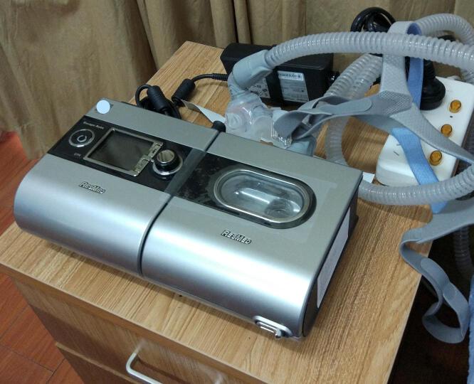 瑞思迈(Resmed) 呼吸机 家用S9Autoset精英款单水平全自动医用原装进口 呼吸机打呼噜 S9Autoset精英款血压计套餐 晒单图