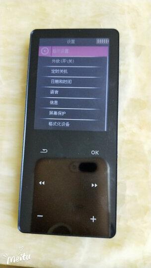升迈 (SHMCI)B30 mp3播放器金属触摸mp4学生无损迷你音乐FM运动随身听mp5 皓月银8G标配版 晒单图