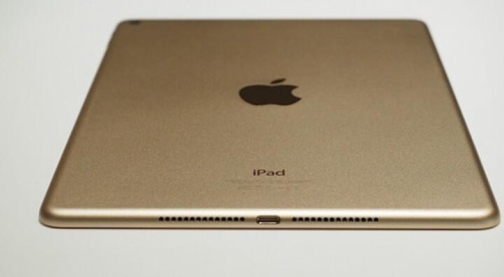 Apple iPad Air 2 平板电脑 9.7英寸(128G WLAN版/A8X 芯片/Retina显示屏/TouCH ID技术 MH1J2CH)金色 晒单图