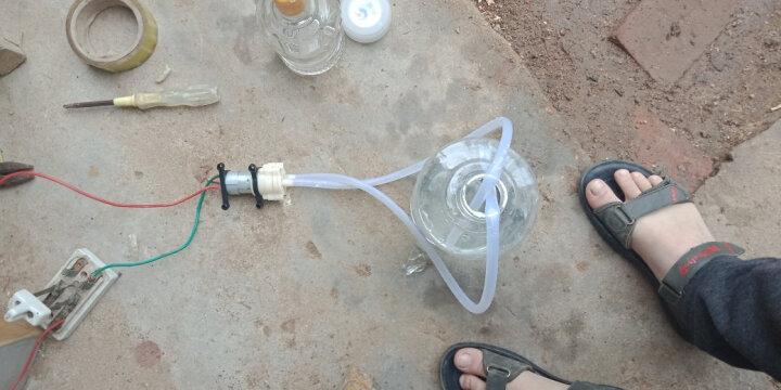 螃蟹王国 385水泵6-12V隔膜泵 微型水泵 抽水机马达 DIY浇花抽水器茶具功夫茶配件 385水泵(1个) 晒单图
