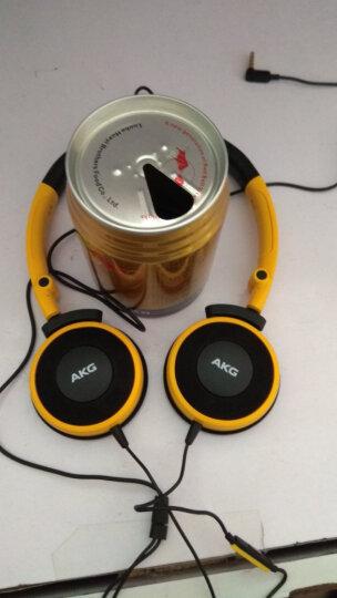 爱科技(AKG)Y30便携式头戴式耳机  K420升级版立体声音乐耳机 手机通话耳机 黄色 晒单图